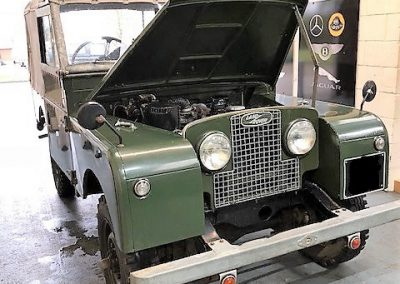 Classic Defender Repairs Suffolk