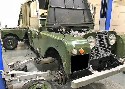 Classic Defender Servicing Suffolk