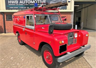 Classic Land Rover Defender Repairs East Anglia