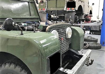 Classic Land Rover Repairs East Anglia