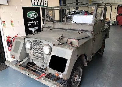 Classic Land Rover Repairs Suffolk