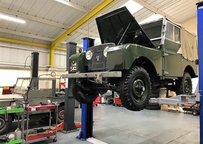 Classic Land Rover Servicing Suffolk